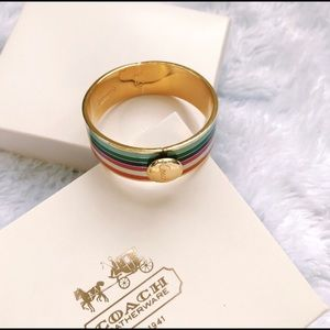 Coach Multicolored Bangle
